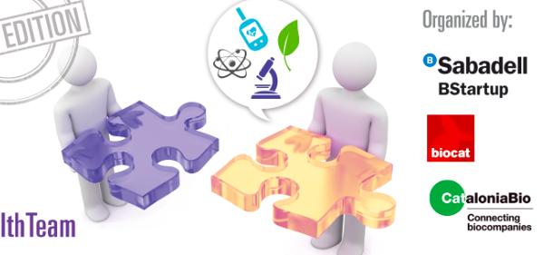 El Health & Bio Team Dating de Banco Sabadell y Biocat en HEALTHIO2018
