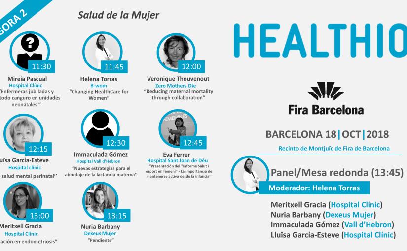 La salud de la mujer nuevamente protagonista en HEALTHIO2018